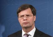 J.P. Balkenende is een beetje somber