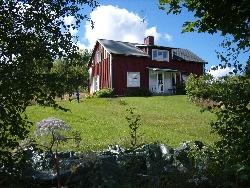 faluröd hus