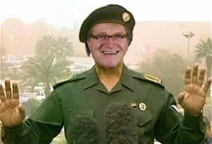 Ger Hukker - minister van informatie