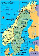 Noorwegen Zweden Finland