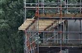bouw steigers