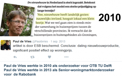 Paul de Vries Rabobank OTB TU Delft